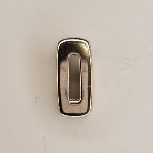 MONET sterling rectangle pendant